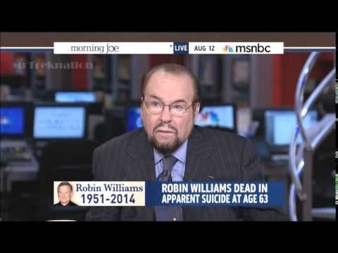 James Lipton - Remembering Robin Williams - MSNBC