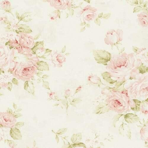 Pink Floral Fabric by the Yard | Pink Fabric | Carousel Designs