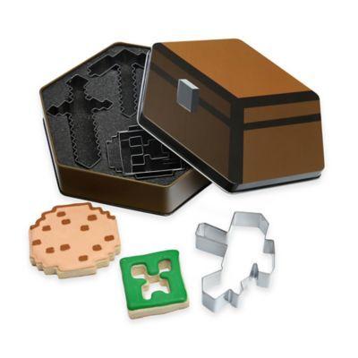 Minecraft 5-Piece Cookie Cutters - BedBathandBeyond.com