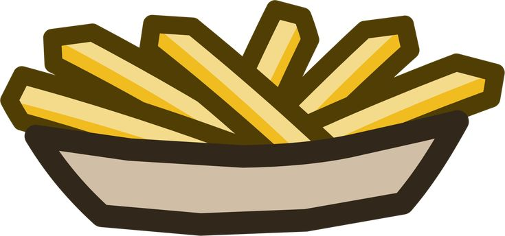 Fries were a fried food found in Club Penguin. They first appeared at the Music Jam 2011 in the Ski Lodge at a Fries Stand. See also Food and Drinks
