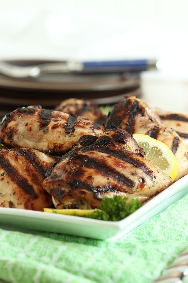 Paleo Country Style Barbecued Chicken