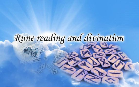 Rune reading and divination by TOFRAR on Etsy