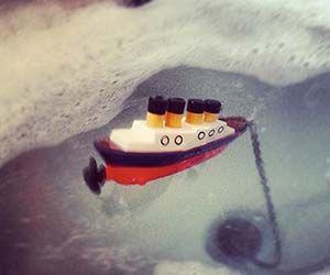 Titanic Ship Bath Plug