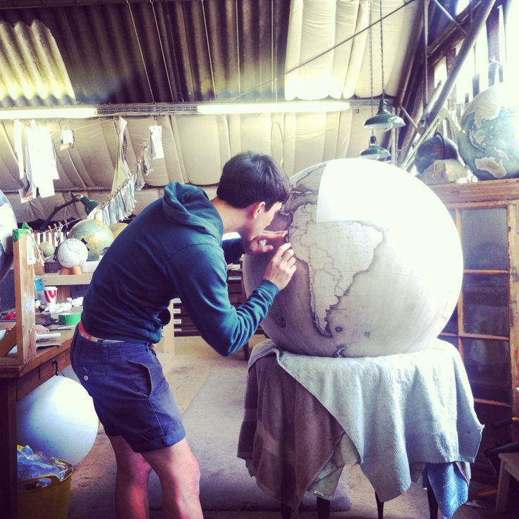 Bellerby and Co Globe Makers - Bespoke Handmade World Globes - Atelier - Artisan - Craftsman