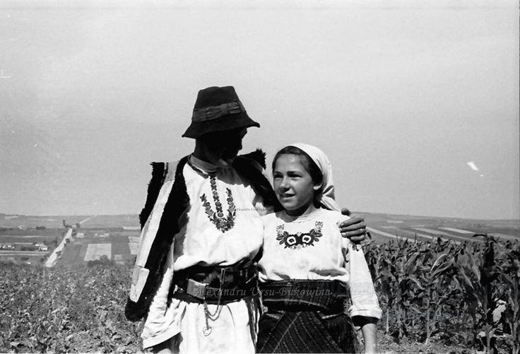 B62.Cernauti.Bauernpaar aus der Bukowina.24. Juli 1941.Fotograf Willy Pragher