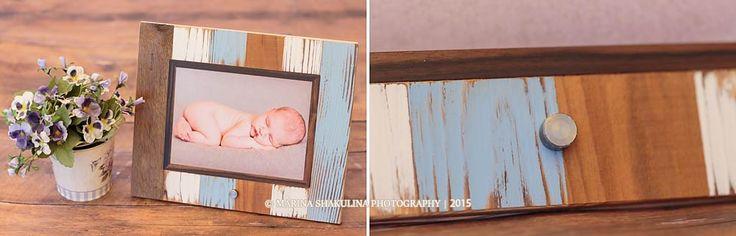 Fotografo di bambini - collezione Frames - Wood Baby
