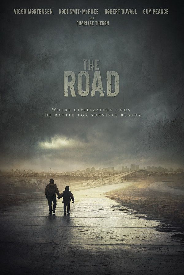 The Road-- there is absolutely nothing uplifting about this book/movie, so I definitely recommended it if you're looking to ball your eyes out...