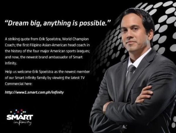 Erik Spoelstra, Filipino American