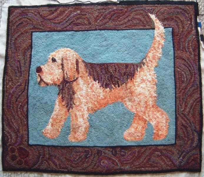 dog hooked rug rug hooking locker hooking penny rugs rug ideas wool