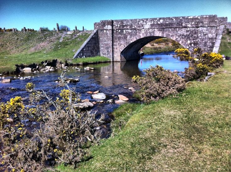 Cadover Bridge - Dartmoor, Devon, England.