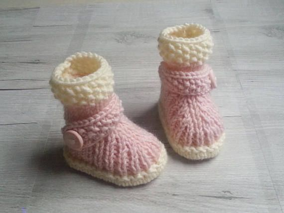 acheter populaire 341f6 980fb Slippers baby nap knitting(sweater) girl hand-made ...