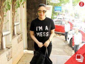 PICS: Kareena Kapoor Khans tee speaks her mind?