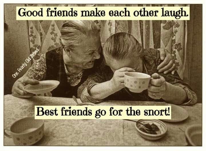 The snort!!Hehehe!!