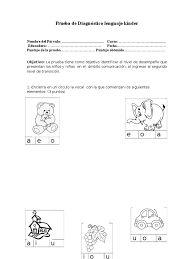 Resultado de imagen para evaluacion diagnostica preescolar 2