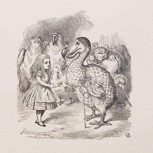 Джон Тенниел  Английский художник, карикатурист; первый иллюстратор книг Льюиса Кэрролла «Алиса в Стране чудес» и «Алиса в Зазеркалье», чьи иллюстрации считаются сегодня каноническими.