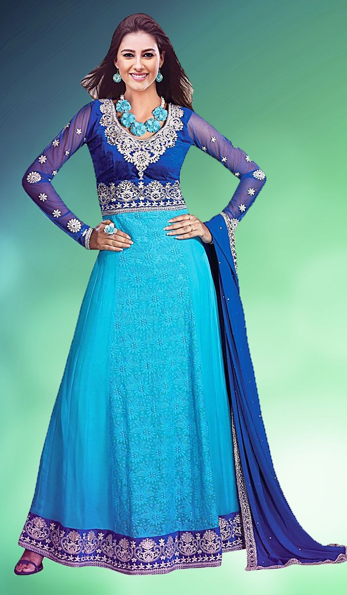 Best 55 Party Wear Dress Materials - Apparels ideas on Pinterest ...