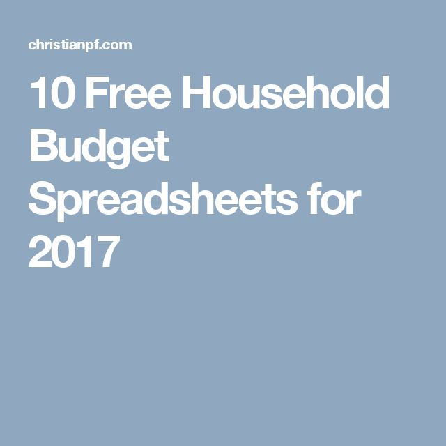 The 25+ best Household budget template ideas on Pinterest Family - excel budget template