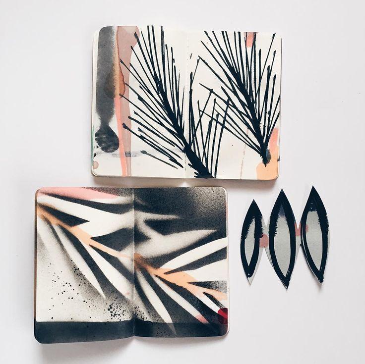 Eva Magill-Oliver (@eva_magill_oliver) • Instagram #art #journal #sketchbook…
