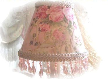 169 best lamp shades images on pinterest lampshades shabby chic beaded lampshade victorian chic rose and shabby cottage lamp shades aloadofball Gallery