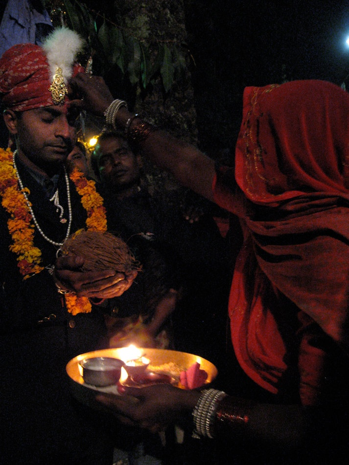 Wedding Blessings Mt. Abu Rajasthan India 8X10 Photograph chamelagiri.etsy.com