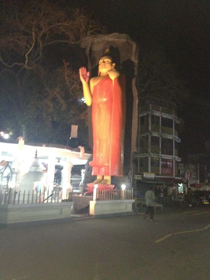 I love the Buddhist vibe of Sri Lanka