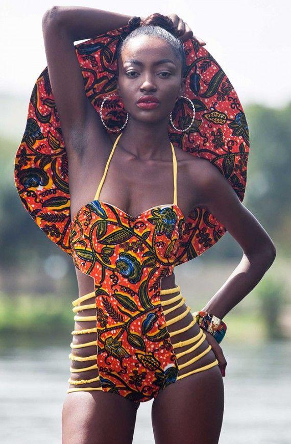 Striking ! ~African fashion, Ankara, kitenge, African women dresses, African prints, African men's fashion, Nigerian style, Ghanaian fashion ~DKK