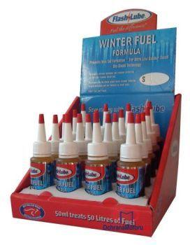 50 ml zimního motorového aditiva Flashlube Winter Fuel Formula