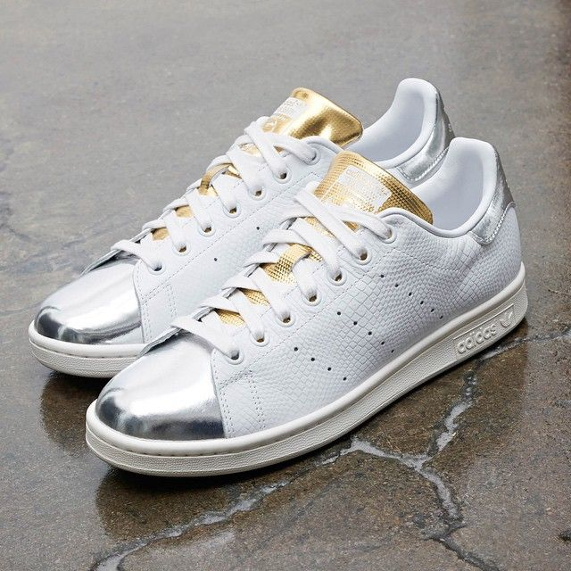 Premium, pure-white faux-snakeskin leather with dazzling hits of gold and  silver