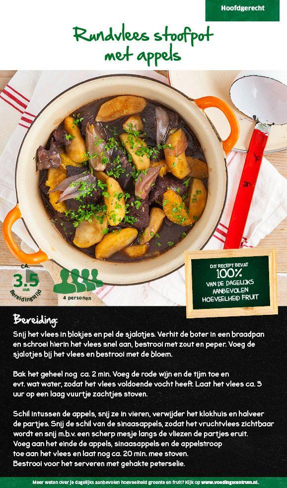 Recept voor rundvlees stoofpot met appels #Lidl