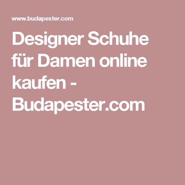 Designer Schuhe für Damen online kaufen - Budapester.com