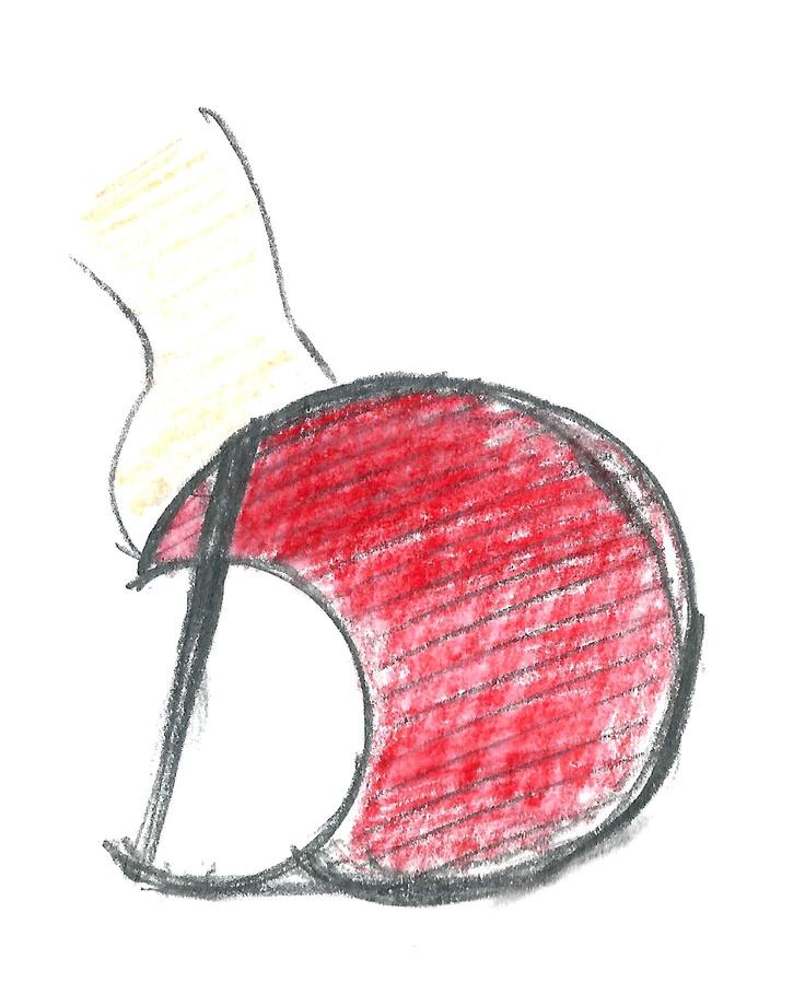 Heel Jewel Shoe drawing by Alessia Semeraro / Art & Architecture inspiration //