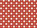 Retro patroon van de bloem rode plaid Stock Afbeeldingen