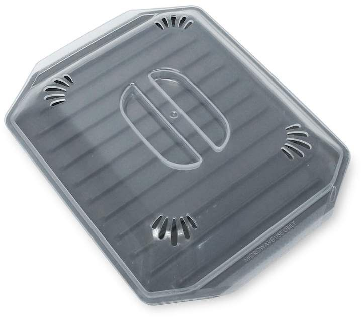 Food NetworkTM Microwave Bacon Tray with Lid #bacon #breakfast #affiliate