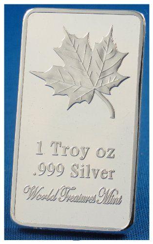 1 Troy Ounce .999 Silver Clad Bullion Ingot