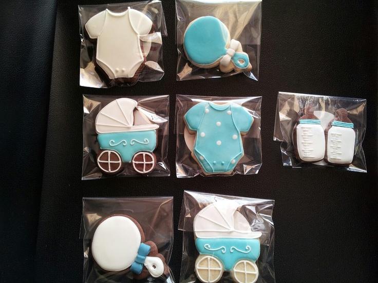 Galletas decoradas bautizo / Baby shower cookies.