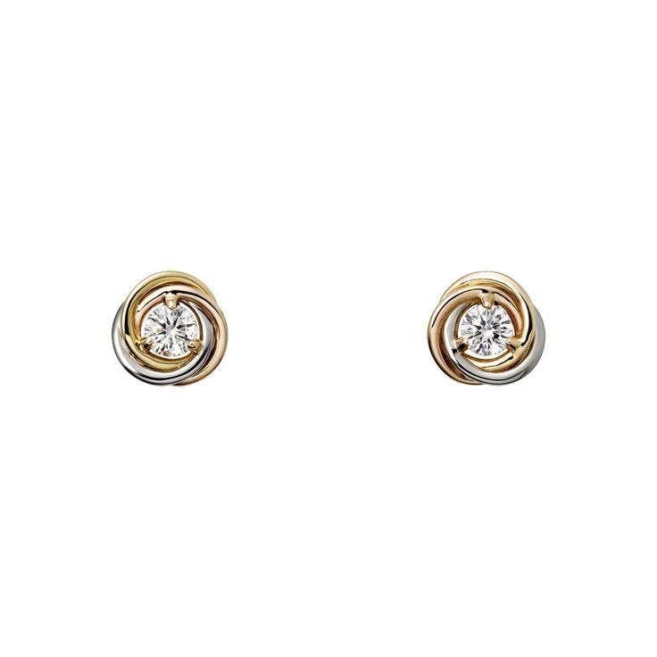 Trinity de Cartier, earrings