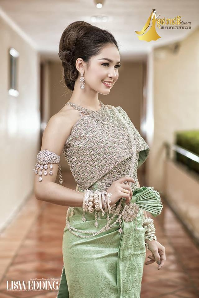 Cambodian Wedding Traditions Couture Pinterest