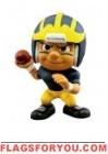 """Michigan Wolverines """"M"""" Lil' Teammates Series 2 QB 2 3/4"""" tall"""