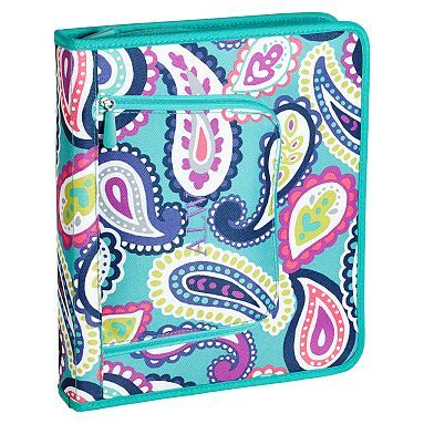 Gear Up Pool Paisley Homework Holder Pbteen Back To