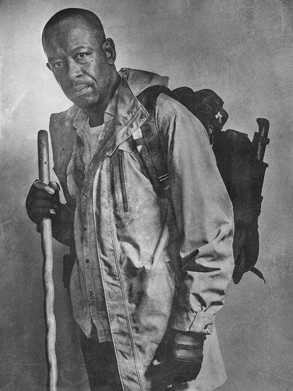 the-walking-dead-6-temporada-silver-portrait-lennie-james-morgan-jones