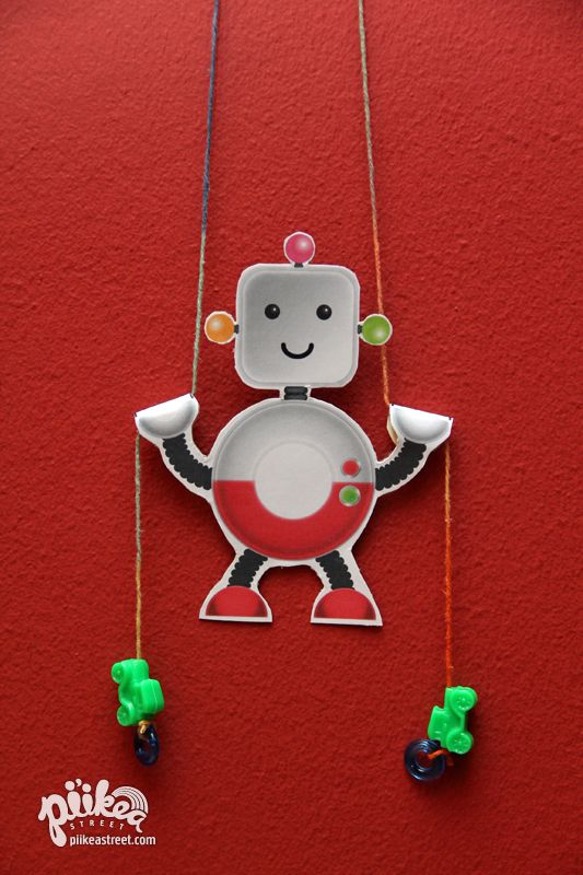 Climbing Robot Toy Craft