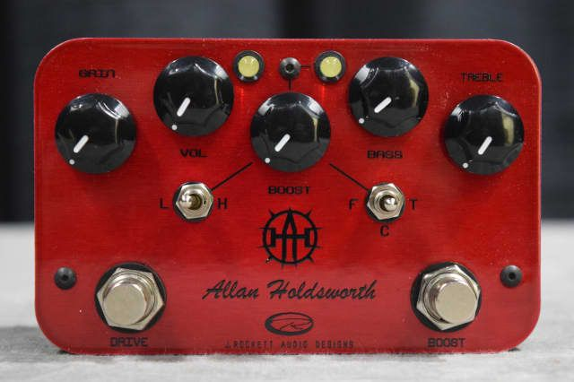 J. Rockett Audio Designs Allan Holdsworth Sign. Overdrive / Boost Effect Pedal