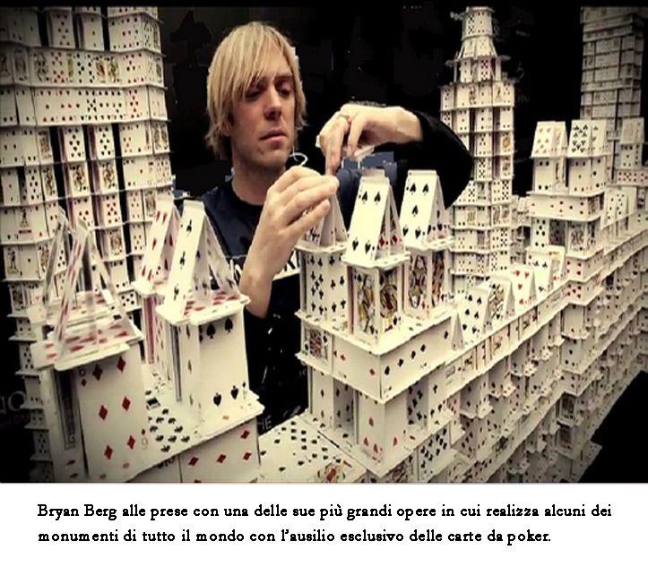 Castello di carte da guinness - 2012 (Bryan Berg)