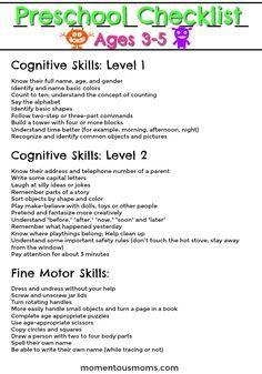 Is your Preschooler on Track - 3-4 Year Old Milestones -