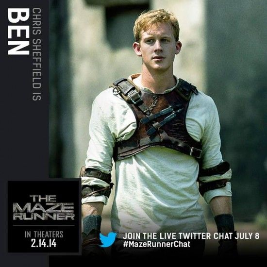 The Maze Runner Movie: Character Card