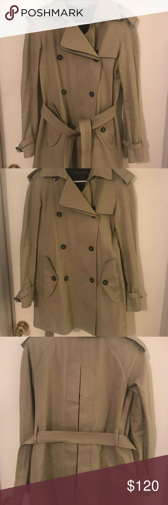 All Saints Trench coat Trench coat in great condition. Dry cleaned. All Saints Jackets & Coats Trench Coats