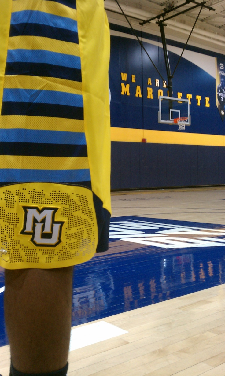 New Marquette Shorts... Awesome picture!: Facebook Poker, Awesome Pictures, Entrylevel Career, Are Marquette, Shorts, Wisconsin Marquette, Marquette University, Internship Entrylevel, Marquette Basketball