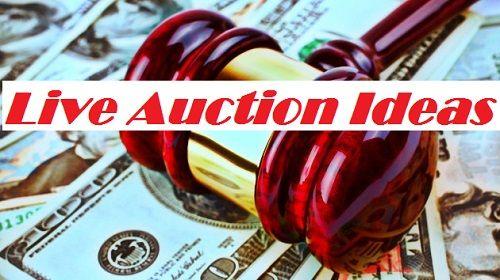 FundraiserHelp.com: 25 Live Auction Ideas