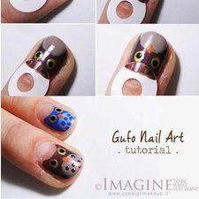 Gufo Nail Art Tutorial