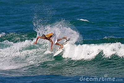 Editorial Image: Pro Surfer Andy Irons in Surfing Competition